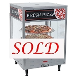 Nemco 6451 Rotating 3-Tiered Pizza Merchandiser 18