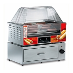 8023SL - Mid Size Slanted Roller Grill - blowout