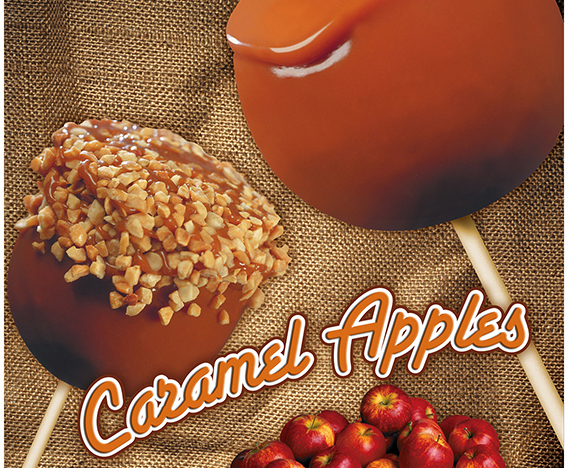 Candy & Caramel Apples