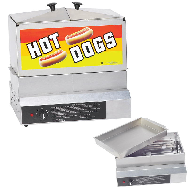 Hot Dog Machines & Carts