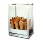 Giant Waffle Cone Display Case