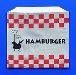 Foil Hamburger Bag 1000