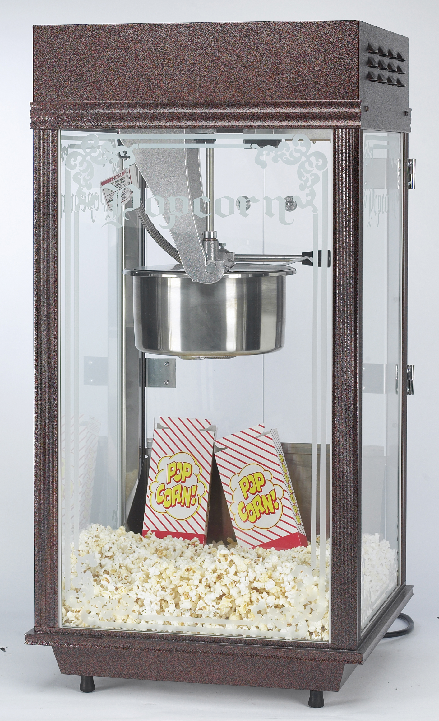 8oz Deluxe Pinto Pop Popcorn Machine