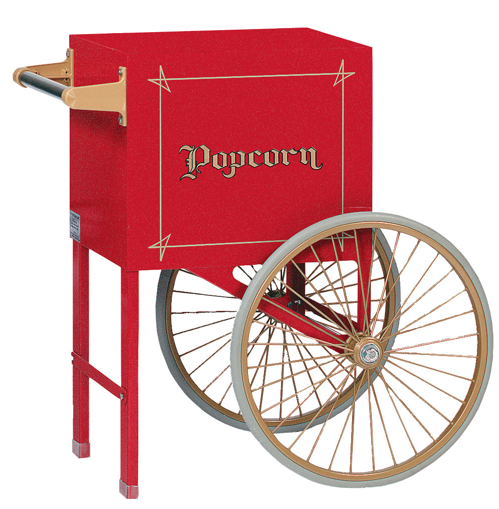 6oz Cart Two Wheel Popcorn