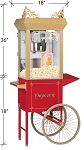 6oz Antique Deluxe 60 Special Popcorn Machine