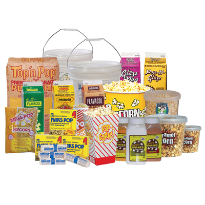 Misc. Popcorn Supplies