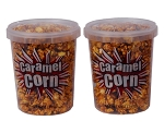 Stay-fresh Caramel Corn Container with Locking Lid