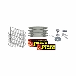 Large Pizza Cabinet Kit