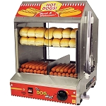 Dog Hut Hot Dog Steamer