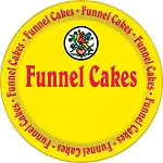 Funnel Cake Plate
