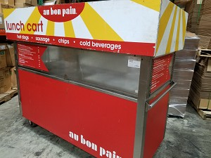 Used Lunch Cart
