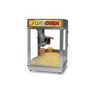 16oz Econo Popcorn Machine Stainless