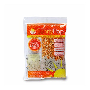 Healthy Popcorn SunnyPop® Corn, Oil & Salt Kit for 6-oz. Kettle