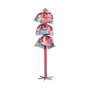 Hawking Pole to sell cotton candy bags