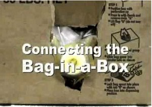 Bag in Box connector how to video