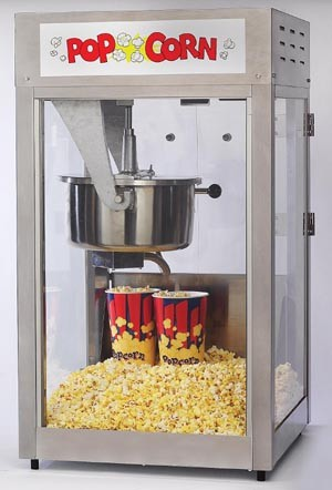 2600 16oz popcorn machine