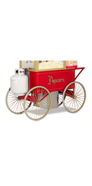 cart for 12oz gas popper