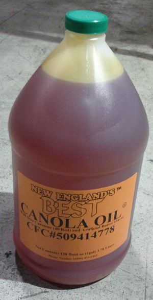 Canola Oil 4-1Gal New England's Best
