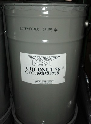 White Coconut Oil 50lb New England's Best