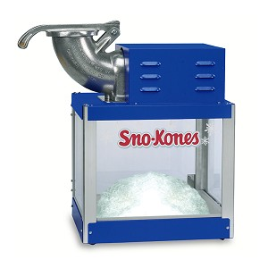 snow cone/shaved ice machine