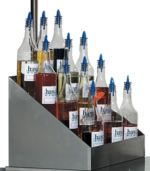 2725 -Tiered Bottle Rack